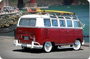 1964 volkswagen deluxe microbus chameleon for 1963 vw samba t1 21 window split screen campervan