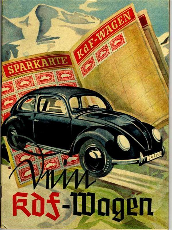 Cars Golden Book >> 1939 KdF Wagen | TheGoldenBug.com