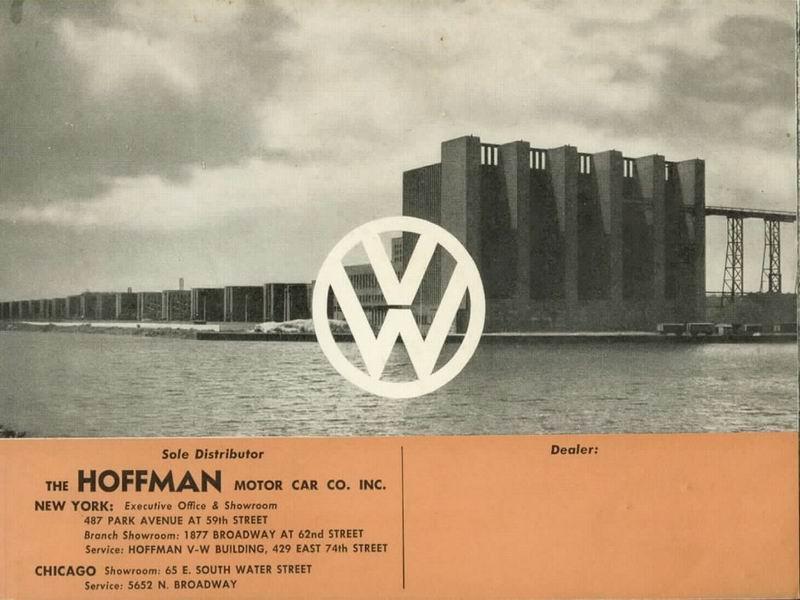 1951 Split Window Beetle Sales Brochure – Sales Brochure