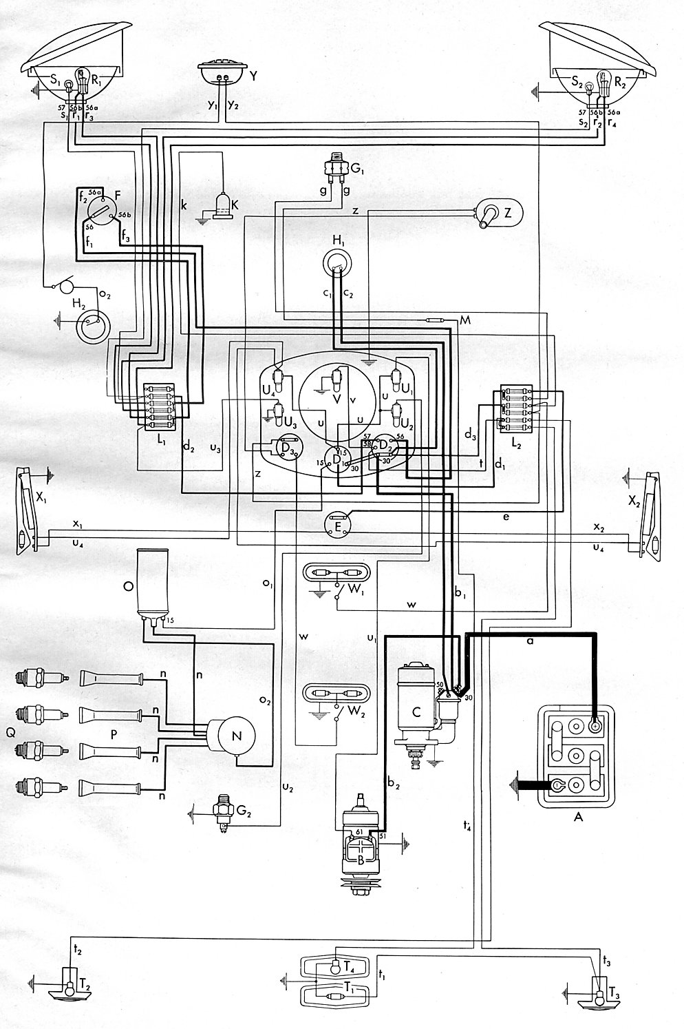 1953 Bus Wiring Diagram Diagrams