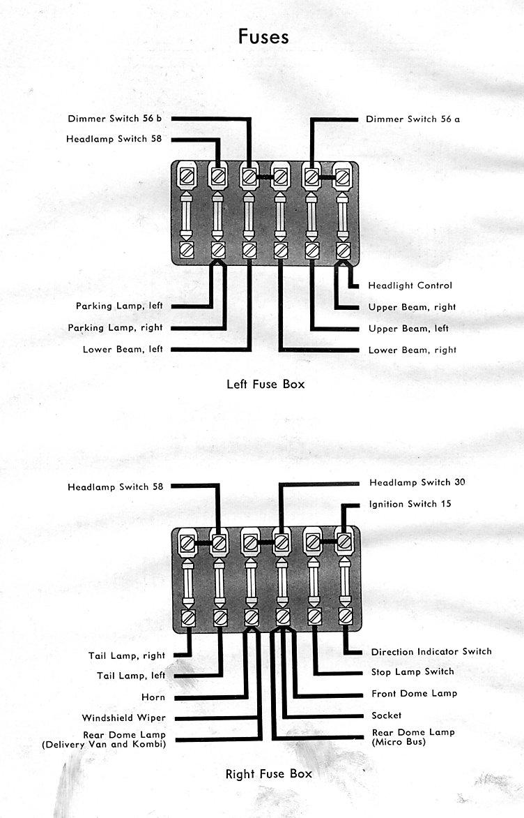 1953 bus wiring diagram thegoldenbug com fuse box tags bus