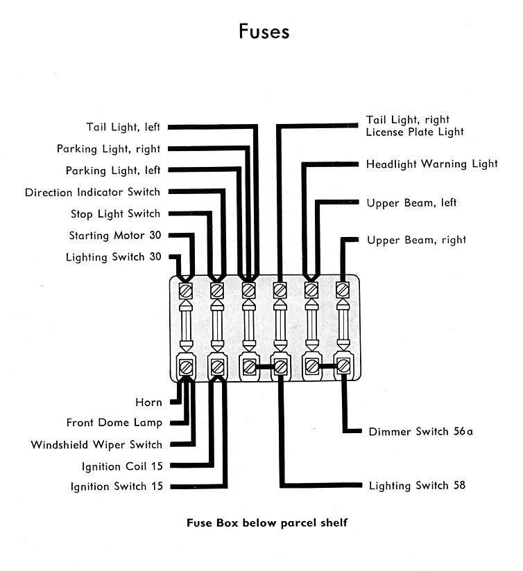 1957 Bus Wiring    Diagram      TheGoldenBug